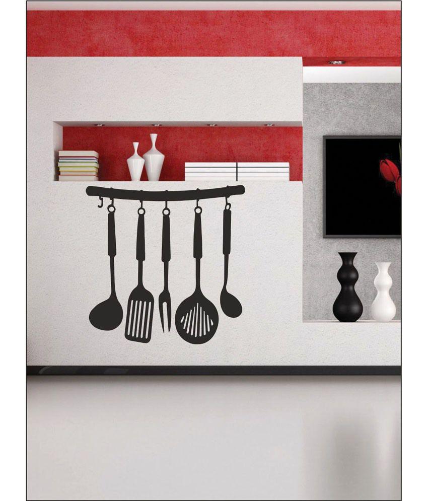 wall1ders kitchen set black stickers super buy
