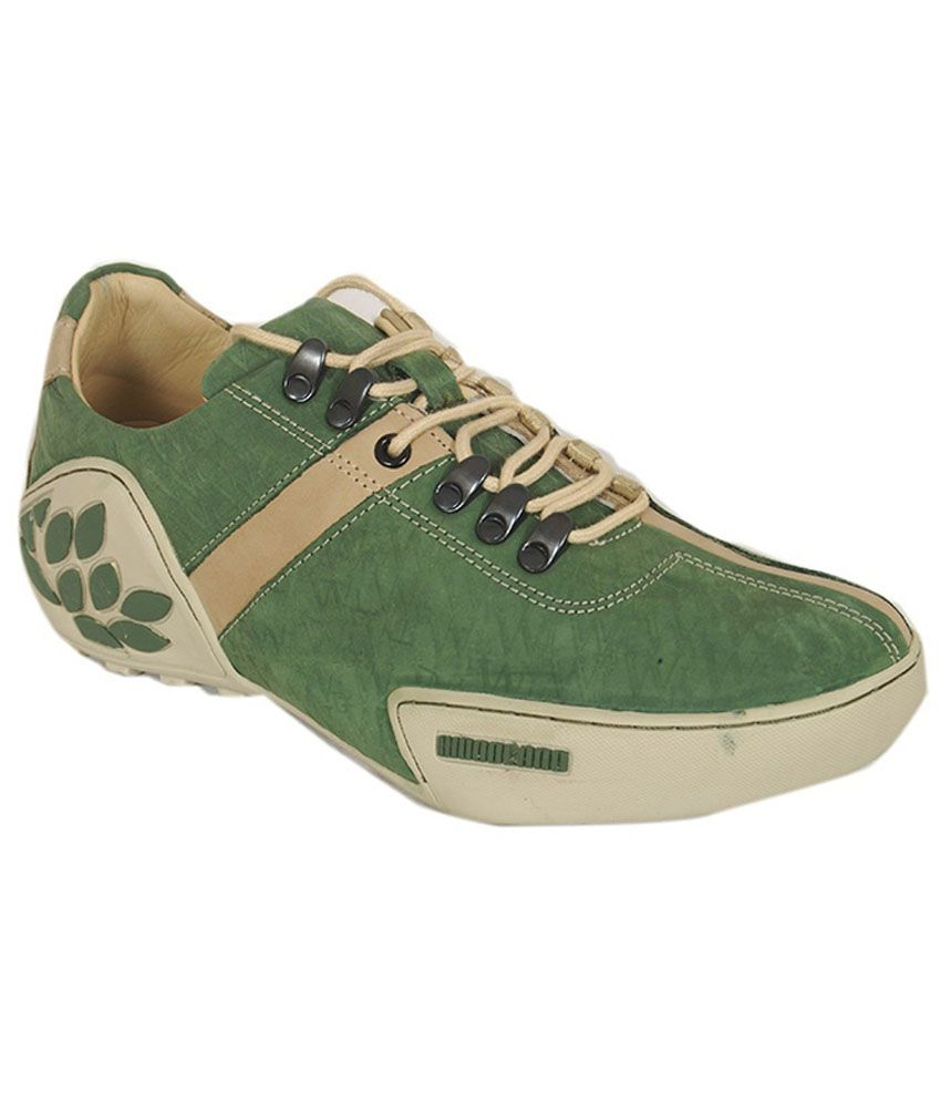 Woodland Green Outdoor Shoes - Buy Woodland Green Outdoor ...