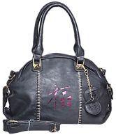 Senora 25085-BLACK Black Satchel Bags