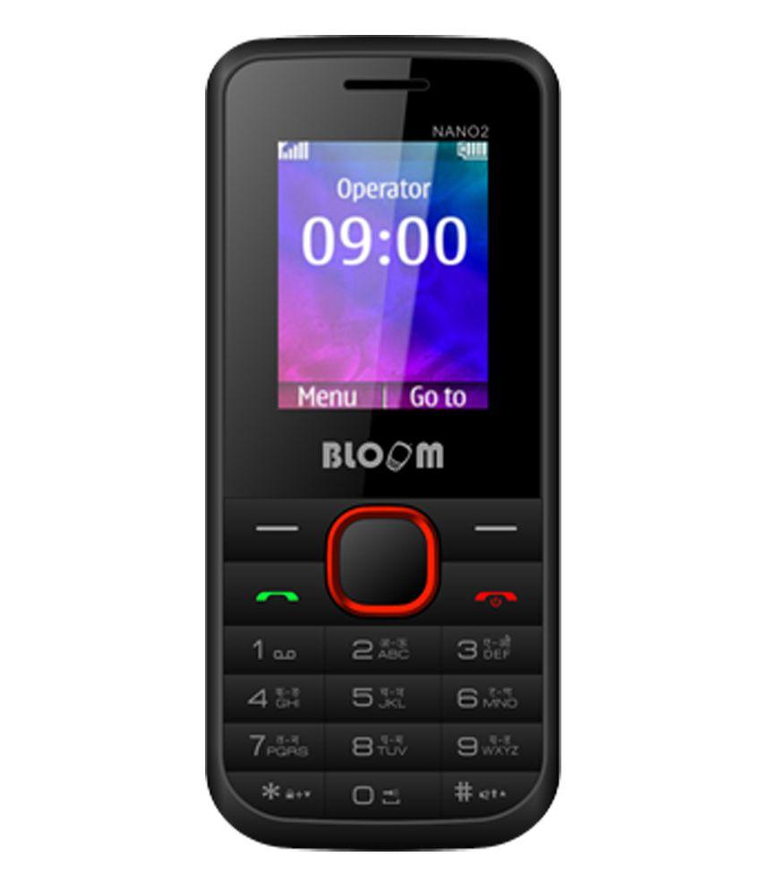 Bloom Nano 2 Dual Sim Mobile Phone - Black