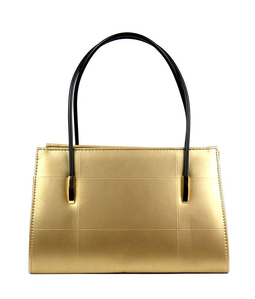 Bagis Golden Shoulder Bag - Gold