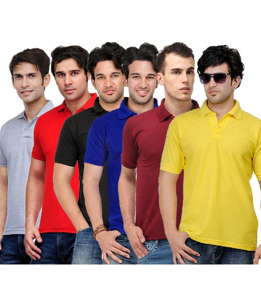 Rakshita's Collection Cotton T- Shirt (SET OF 6)