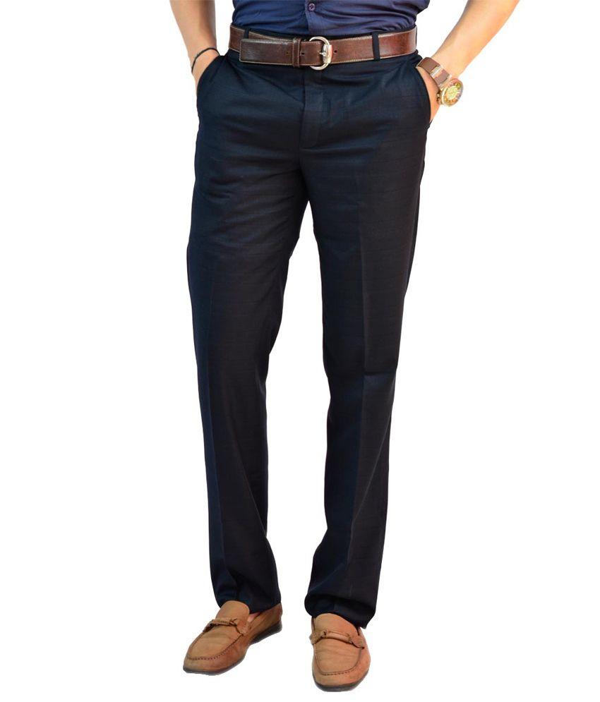 Granite Slim Fit Blue Men's Trouser