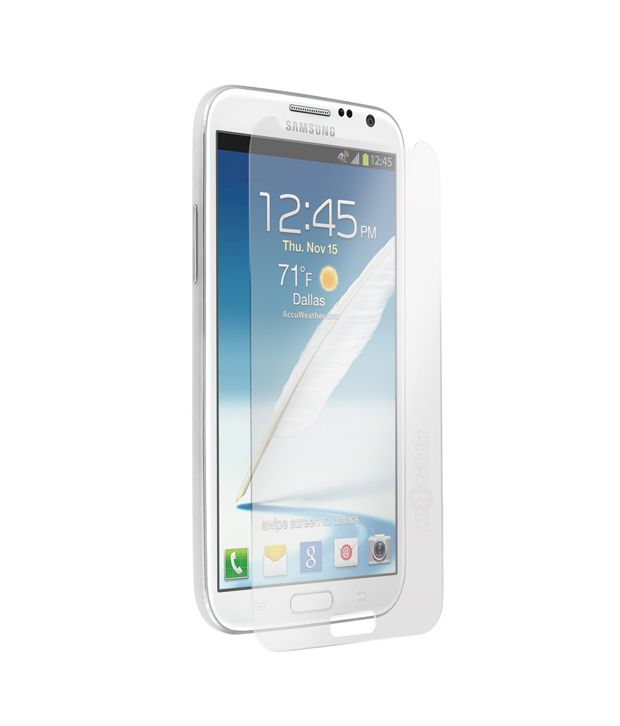 Rich Tempered Glass Screen Guard for Samsung Galaxy Note 2