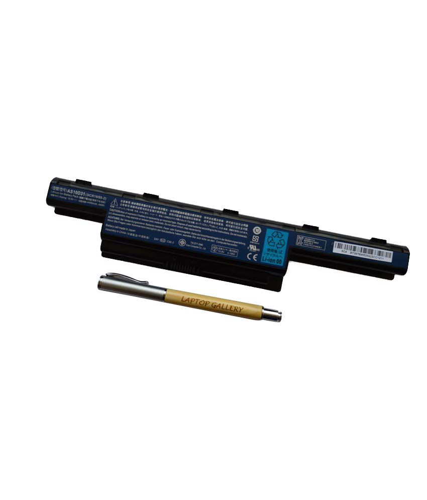 ACER GENUINE ORIGINAL LAPTOP BATTERY FOR ASPIRE 7741Z-4475 WITH PERSONALISED WOODEN PEN