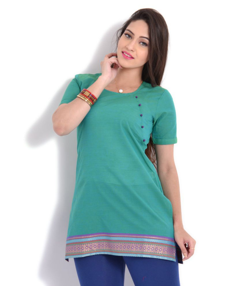 7ad0a122a3 Womens Short Kurta - Buy Womens Short Kurta Online at Best Prices in ...