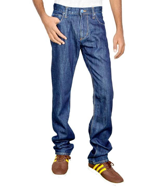 Lee Navy Blue Powell Jeans