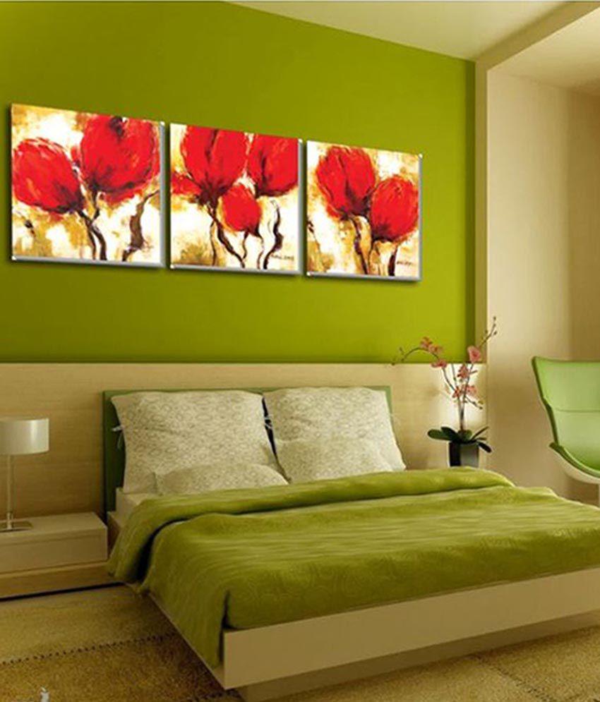 Design Home Wall Art Panel (3 Pieces): Buy Design Home Wall Art ...