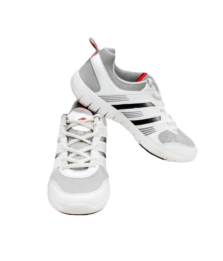 Leiluo White Men's Sport Shoes - Buy