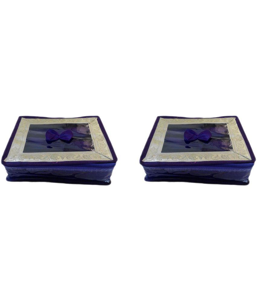 Pranil Purple Designer Bangal Box