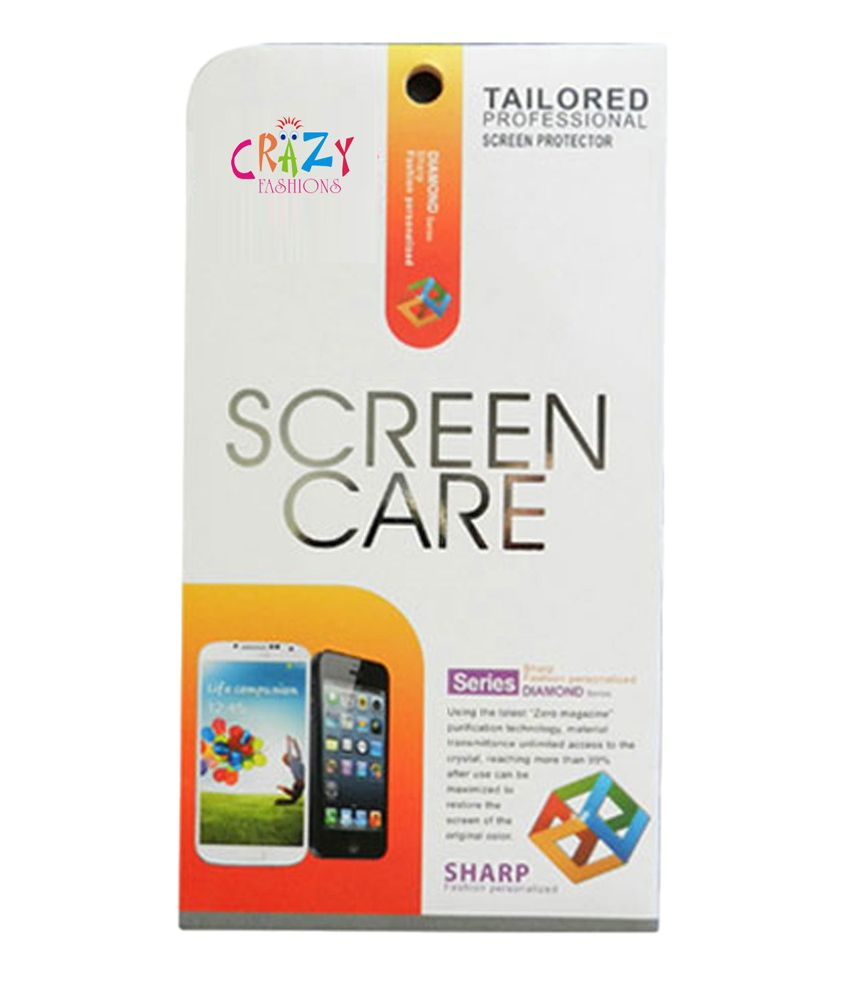 Clear Screen Guard by Crazy Fashions