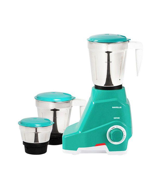 Havells Genie Juicer Mixer Grinder Green Price in India - Buy Havells Genie Juicer Mixer Grinder ...