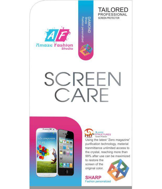 Karbonn A35 Clear  Screen Guard by Amaze Fashion Studio