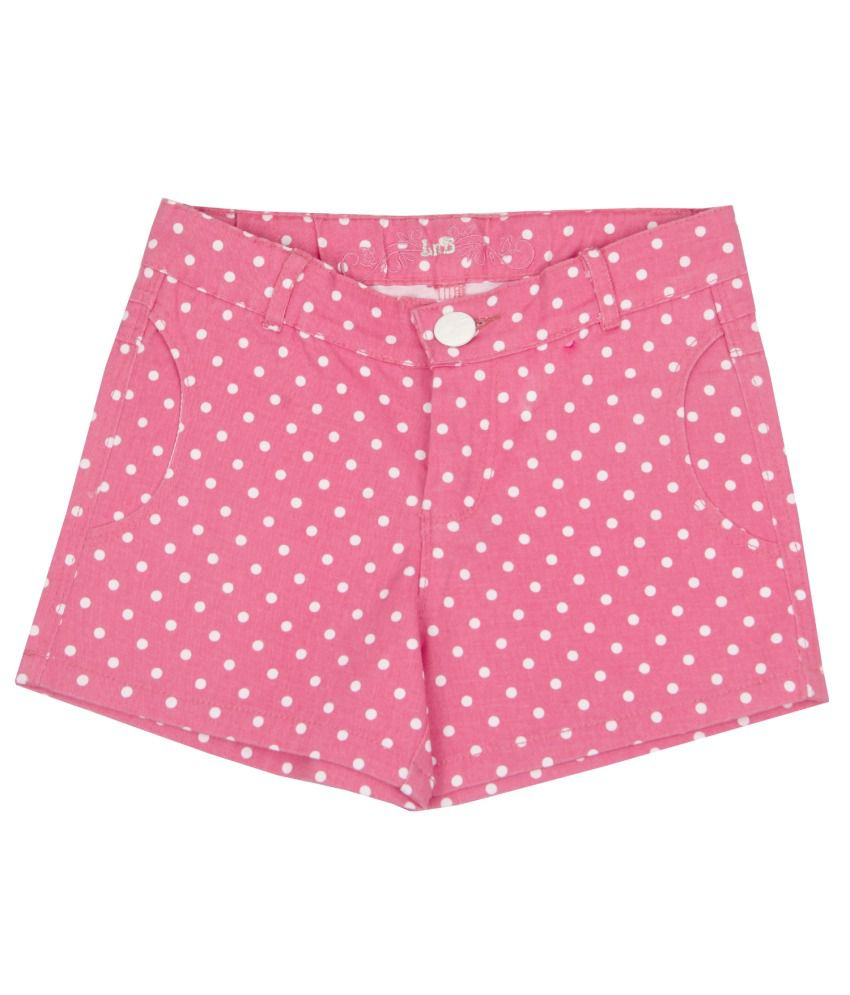 Leo n Babes Pink Cotton Short