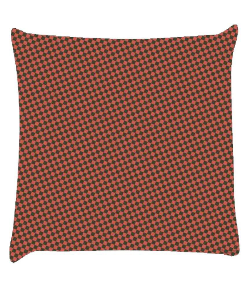 Snoogg Chequered Pattern Design 1059 Cushion Cover