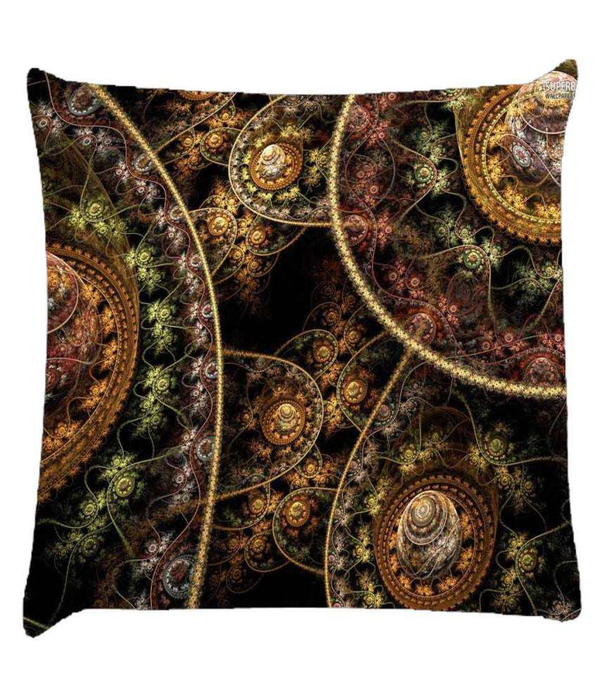 Snoogg Fractal Domes 2632 Cushion Cover