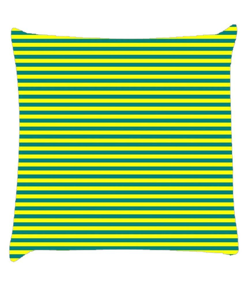 Snoogg Horizontal Lining Pattern Design 1779 Cushion Cover