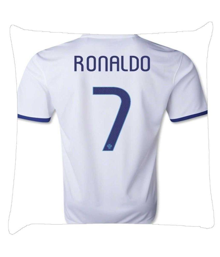 Snoogg Ronaldo 7 Jersey 2920 Cushion Cover