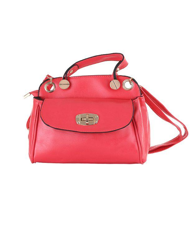 Aliza Pink Cross Body Sling Bag