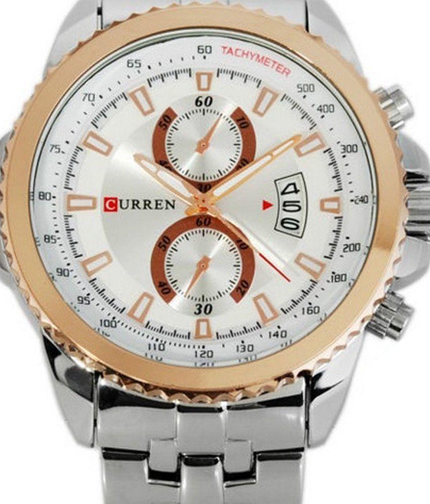 Wrist watch on discount -  Curren Mens Wrist Watch