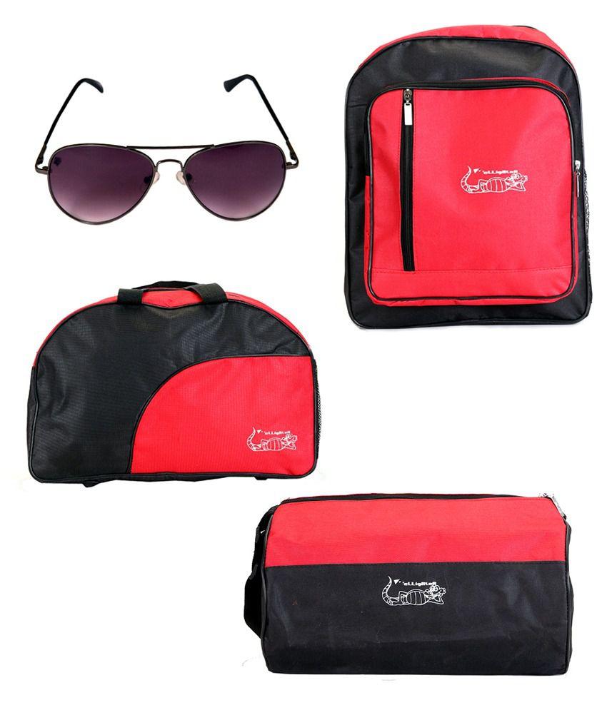 Elligator , , School and spartiate Sunglass Combo gear Gym Bag