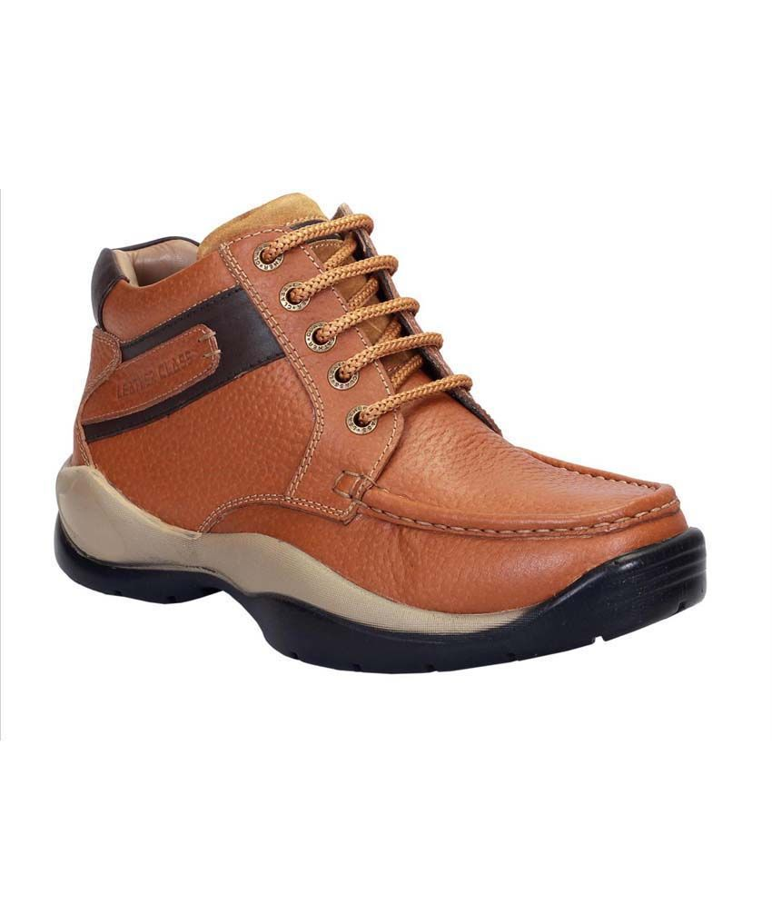 LEATHER CLASS ROYAL LEATHER BOOTS FOR MEN
