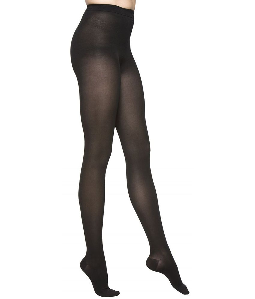 83b16201a33 Buy Omzzz Black Nylon Tights Online at Best Prices in India - Snapdeal
