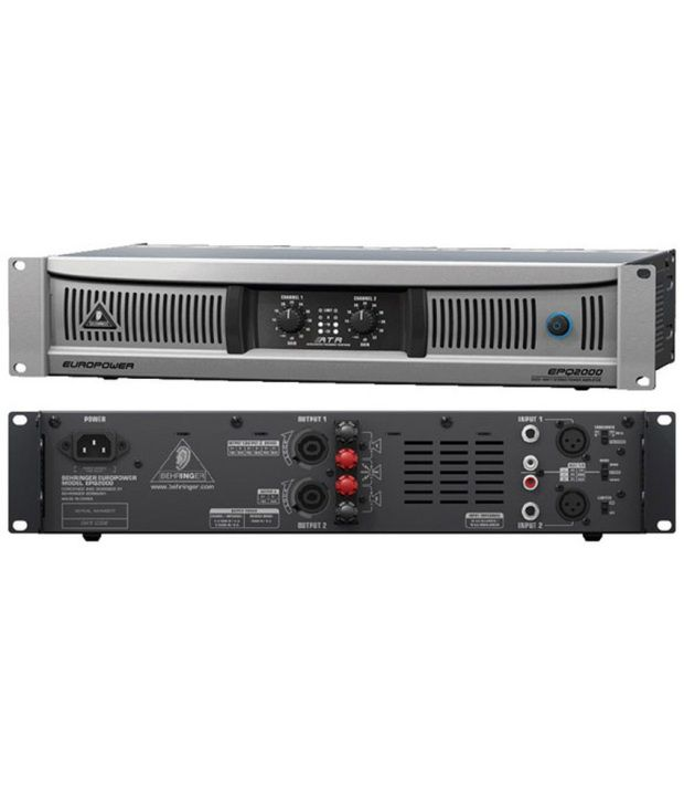 Behringer Europower EPQ2000 Power Amplifier: Buy Behringer