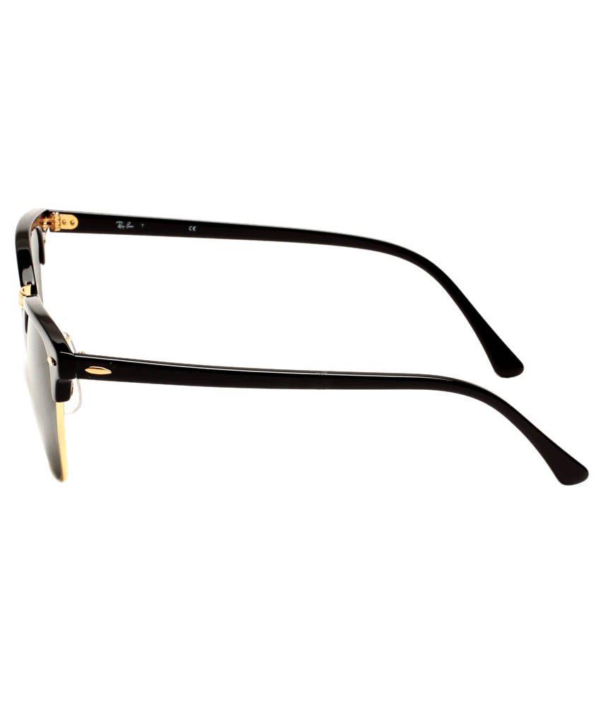 ray ban rb3016 clubmaster sunglasses rko4  Ray-Ban Green Clubmaster Sunglasses RB3016 W0365 51-21