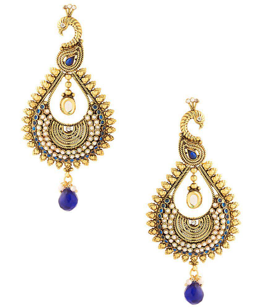 Voylla Lovely Fascinating Hanging Earrings