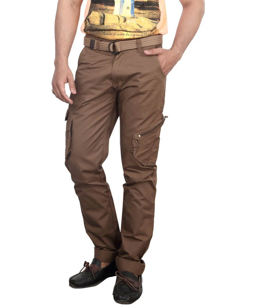 Bodymark Brown Cotton Trouser