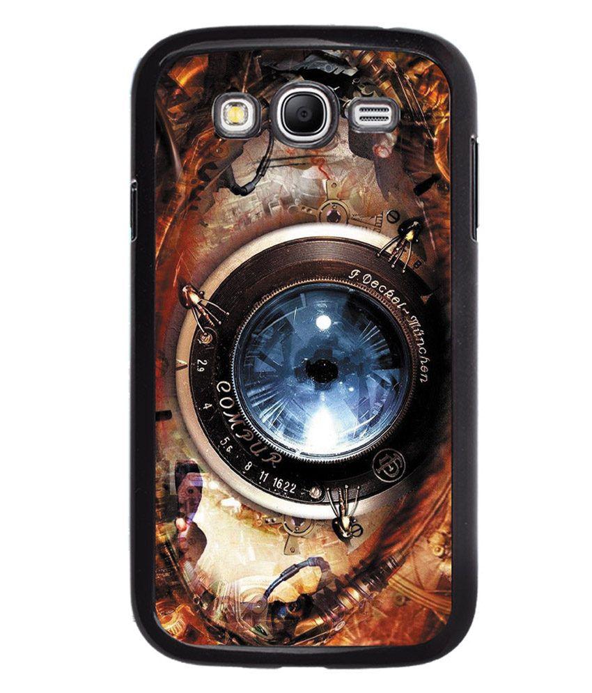 Fuson Hard Shell Back Cover For Samsung Galaxy Grand I9082 - Multicolor