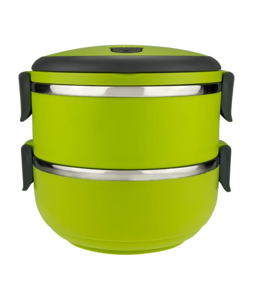 Anni Creations Green Lunch Box