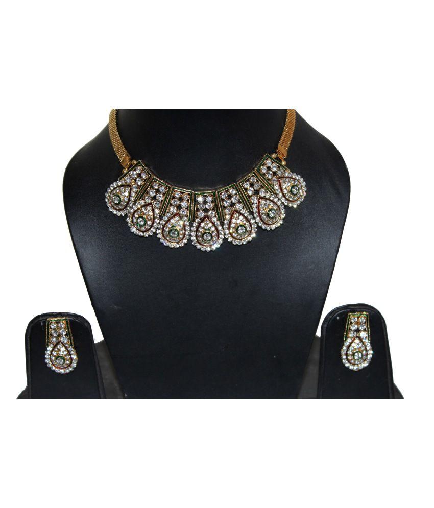 Natraj Art Traditional Alloy Necklace Set