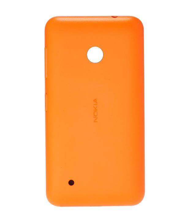 huge selection of f468a 715dc Nokia Original Back Panel For Nokia Lumia 530 - Orange