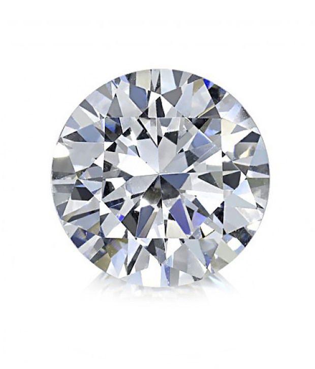 Saloni Jewels Round Brilliant Cut 0.1 Ct Diamond - 10 Pcs