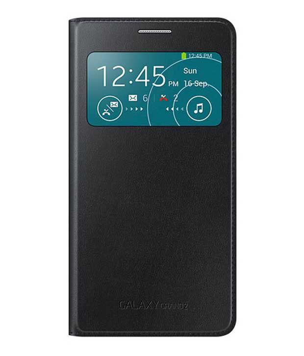 new products 8f1dd 048ee Samsung Galaxy Grand 2 Flip Cover by Samsung - Black