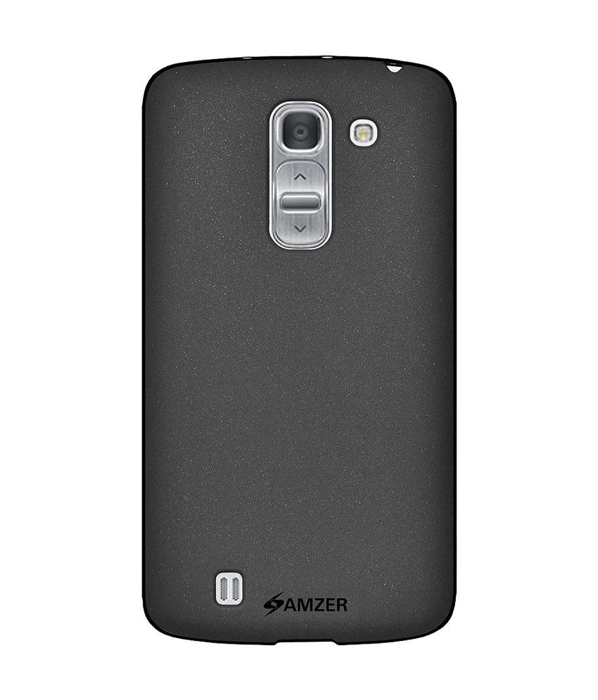 on sale fdc4a cfdd9 Amzer Black Back Cover Cases for Lg G Pro 2 F350