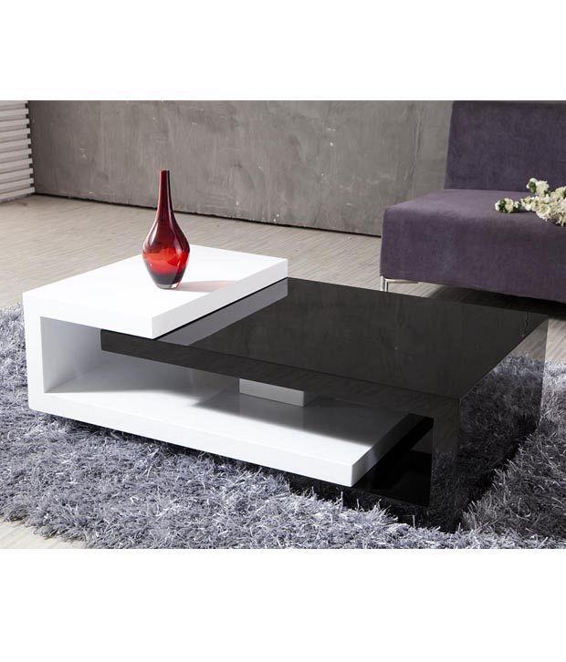 Merveilleux Dream Furniture Center Table Rectangle Shape White
