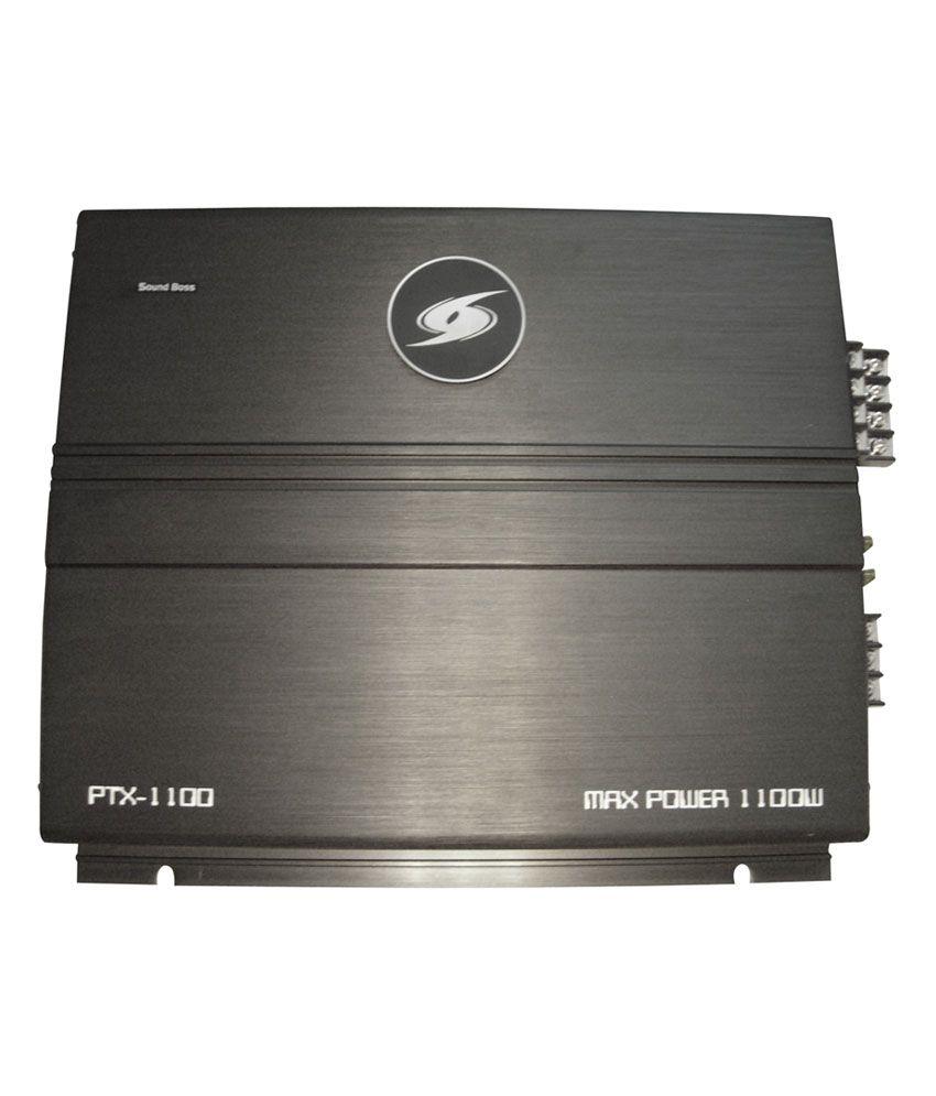 SoundBoss 4-channel amplifier (1100w)