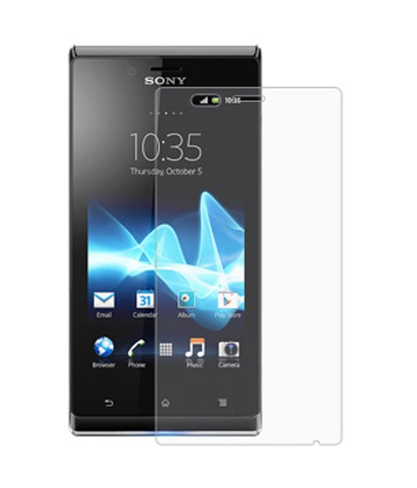 Sony Xperia J 2 Pieces Clear Screen Guard by M-Zone