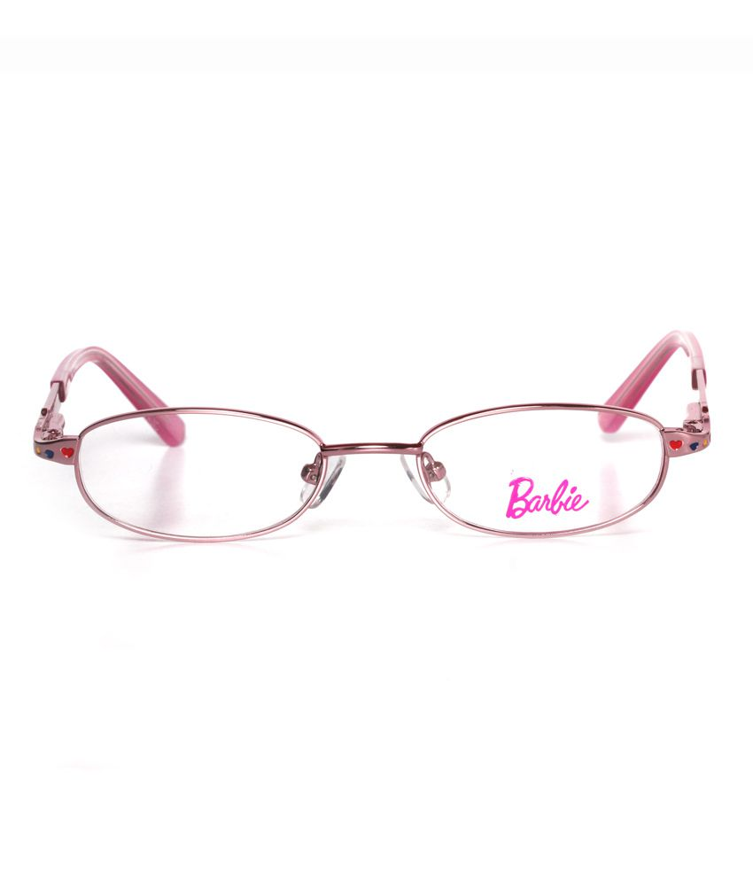 a1e648cf75 Buy Barbie Pink Full Rim Non Metal Frame Eye Glasses for Kids at ...