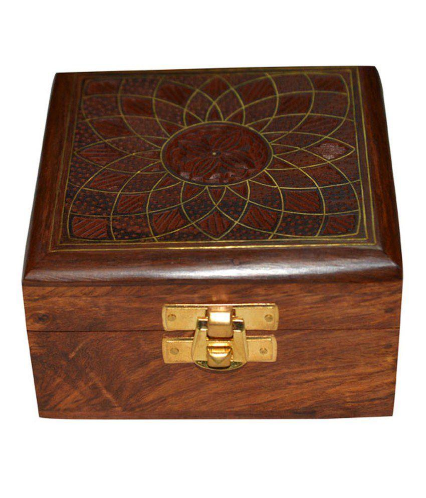 DronaIndia Designer Wood Jewellery Box
