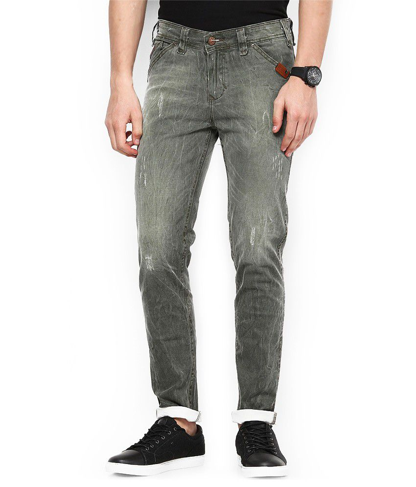Code 61 Skinny Fit Stretchable Jeans