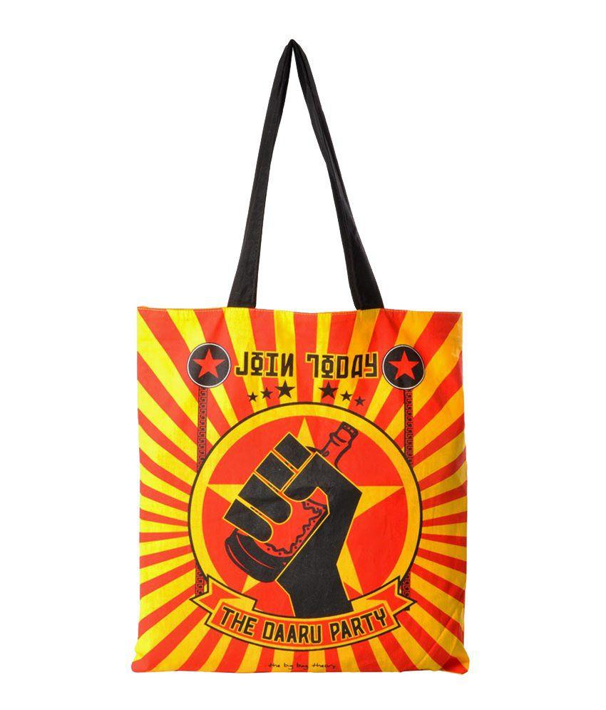 The Big Bag Theory DAARU PARTY TOTE BAG