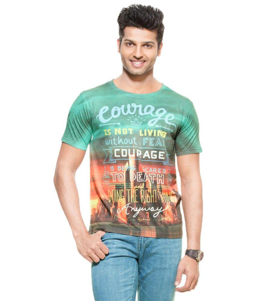 Zovi Breathtaking Multicolour T Shirt