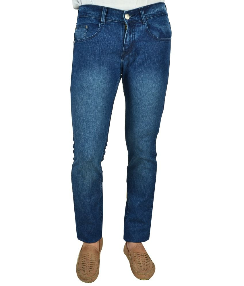 Stretchable Blue Jeans For Men Best Quality & Affordable (Cosmo Club)