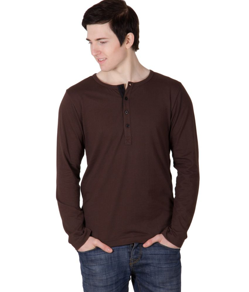 Rigo Brown Cotton T Shirt