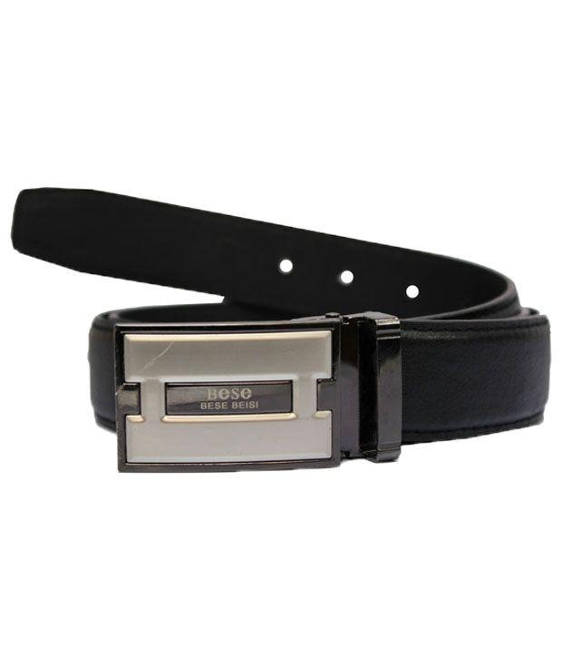 Winsome Deal Captivating Casual Black Belt
