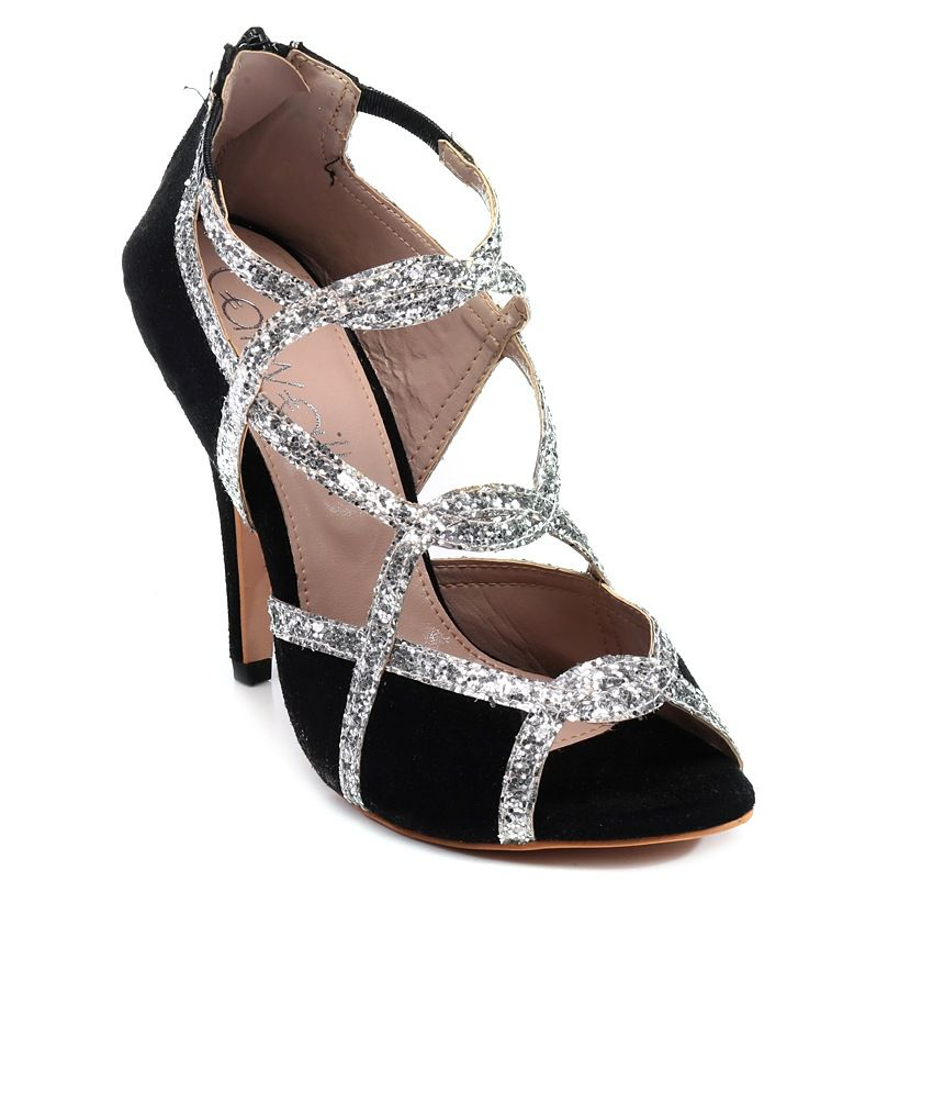 7a2a64a5dbb Catwalk Silver High Heel Sandals